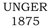 UNGER 1875